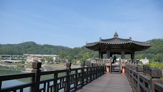 Andong-si South Korea  City new picture : 안동 월영교를 거닐며 Woryeonggyo Bridge, Andong-si, KOREA [Beholder DS1+Panasonic GH4]