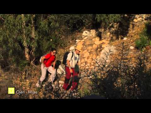 Der Große Wanderweg Málagas. Etappe 32: Ojén – Mijas (Deutsch)