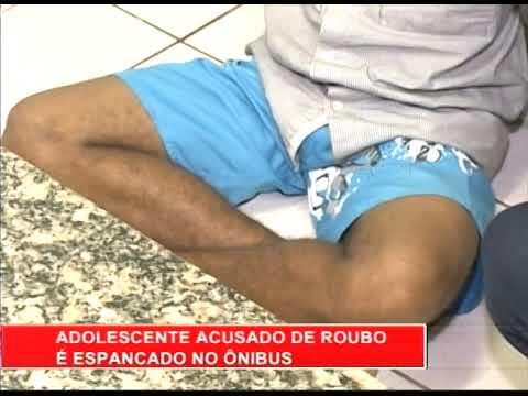 [RONDA GERAL] Adolescente acusado de roubo é espancado no ônibus