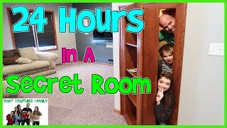 24 Hours In A Secret Room / That YouTub3 Family