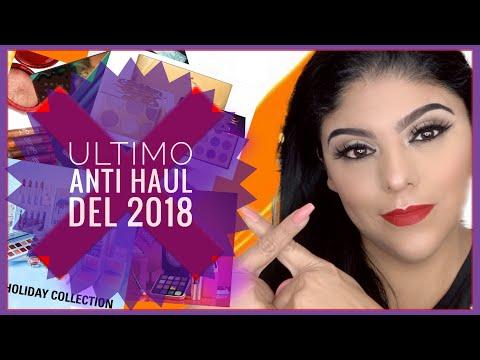 Videos de uñas - EL ÚLTIMO ANTI HAUL DEL 2018 - LO QUE NO ENTRARÁ A MI COLECCIÓN DE MAQUILLAJE / ANTI HAUL # 5