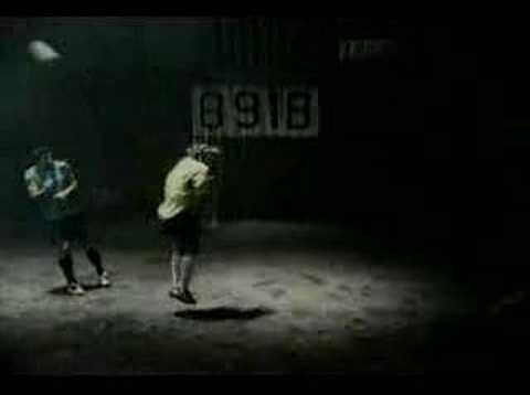 Nike Banned Soccer Commercial Freestyle Henry Figo Raul