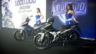Kỉ niệm 1 triệu xe Exciter, Yamaha Motor Việt Nam ra mắt 2 phiên bản giới hạn Exciter 150 https://xehay.vn/yamaha-ra-mat-2-phien-ban-gioi-han-exciter-150-gia-47-trieu-dong.htmlFanpage: http://facebook.com/xehayFacebook HÙNG LÂM: https://web.facebook.com/tonypham.xehayChương trình XE HAY phát sóng duy nhất trên kênh FBNC vào lúc:21h00 CHỦ NHẬT hàng tuần (phát chính)Thứ 2: 18h30Thứ 3, 6: 21h30Thứ 4, 5: 17h30Thứ 7: 18h00Liên hệ: noidung@xehay.vn