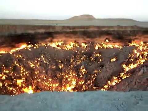 地獄之門:土庫曼沙漠燃燒40多年的巨坑!