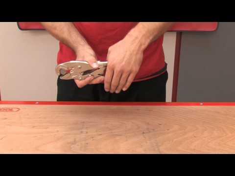 Anwendungsvideo Maul-Gripzange mit Drahtschneider KS Tools 115.1175 / 76