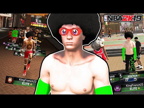 NBA 2K19 REBIRTH PURE GLASS CLEANER CREATION • BEST CENTER BUILD 🐴