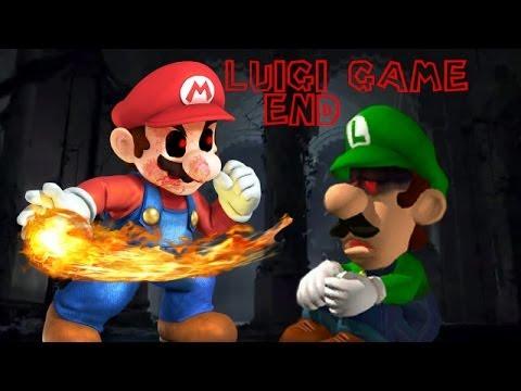 LUIGI.EXE END - DAMN YOU, MARIO! [Horror Game]
