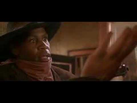 Danny Glover's cameo in Maverick which is a hilarious nod to Lethal Weapon