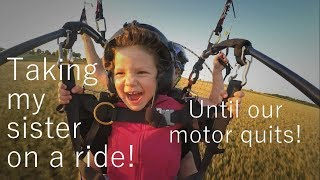 Video Our motor quits! Taking my sister for a tandem Paramotor ride MP3, 3GP, MP4, WEBM, AVI, FLV Januari 2019