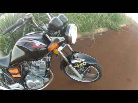 yes 140 cc Carburador cbx aero 150 honda + Comando Competição + churasqueira guidão alto