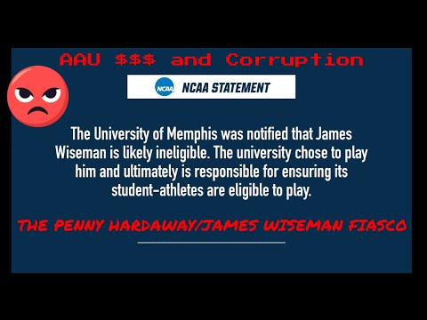 Whats going on with James Wiseman Penny Hardaway and the NCAA?