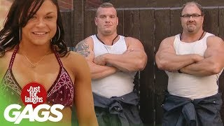 Best Bodybuilder Pranks - Best of Just For Laughs Gags