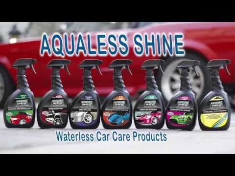 Aqualess Shine - Waterless Car Care Products