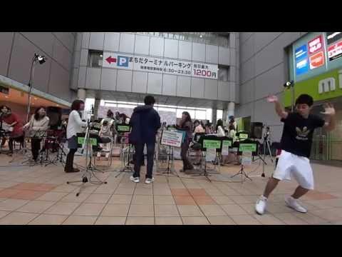 町田高校ダンス部_第一回 ママさんブラスFestival_140607