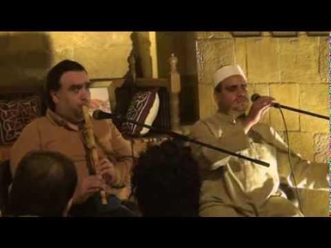 غناء الشيخ إيهاب يونس مع الفنان محمد عنتر