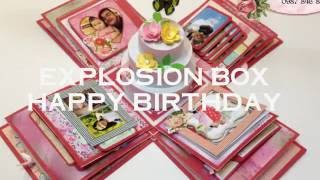 Birthday explosion boxNhận làm hộp quà, scrapbook hà nội-- Liên hệ mua hàng --• Hotline: 0987 846 880 hoặc 0967219617 (Zalo)• Email: truemama91@gmail.com• Facebook:www.facebook.com/mama.handmade91Your likes, comments and Share makes us HAPPY :)Subscribe  : https://goo.gl/ufDlwoWatch More video tutorial:https://www.youtube.com/user/truemama91/videosFacebook : https://www.facebook.com/mama.handmade91/