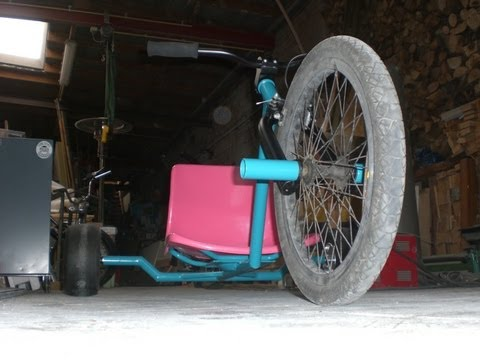 trike construction - Construction de mon second Drift Trike...