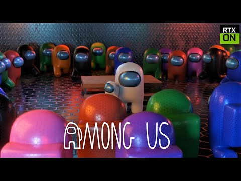 Among Us RTX On EP11 ( 99 Impostors ) - 3D Animation