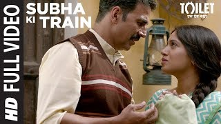 "Presenting full video song ""Subha Ki Train"" from the Hindi Bollywood movie ""Toilet - Ek Prem Katha"", This movie is starring Akshay Kumar, Bhumi Pednekar, Divyendu Sharma, Sudhir Pandey, Shubha Khote and Anupam Kher.Get it on iTunes - http://bit.ly/ToiletEkPremKatha_FullAlbum_iTunesAlso, Stream it onHungama - http://bit.ly/ToiletEkPremKatha_FullAlbum_HungamaSaavn - http://bit.ly/ToiletEkPremKatha_FullAlbum_SaavnGaana - http://bit.ly/ToiletEkPremKatha_FullAlbum_GaanaApple Music - http://bit.ly/ToiletEkPremKatha_FullAlbum_AppleMusicGoogle Play - http://bit.ly/Toilet-Ek-Prem-Katha-Full-Album-Google-PlaySong: Subha Ki TrainSingers: Sachet Tandon, Parampara ThakurMusic: Sachet - ParamparaLyrics: Garima Wahal & Siddharth SinghMusic Label: T-Series Additional Vocals (Aalap): Rituraj Mohanty, Sukriti KakarArranger/Programmer: Bharat GoelAdditional Arranger/ Programmer: Dhirendra MulkalwarAssociate Arranger/Programmer: Firoz Khan, Dev Arijit, Daniel ChiramalMixed By: Vijay Dayal @Yashraj StudioAssistant Engineer: Chinmay MestryMastered At: Hafod Mastering By Donal WhelanRecorded At: Sound Forest Studios MumbaiRecordist: RahulAdditional Vocals Recorded At:Amv Studios, MumbaiRecordist: Raaj And Rahul @ Amv StudiosGuitars: Dev Arijit, Aking, KanuBacking Vocals: Dev Arijit___Enjoy & stay connected with us!► Subscribe to T-Series: http://bit.ly/TSeriesYouTube► Like us on Facebook: https://www.facebook.com/tseriesmusic► Follow us on Twitter: https://twitter.com/tseries► Follow us on Instagram: http://bit.ly/InstagramTseries"