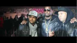 French Montana, Diddy, Machine Gun Kelly, Red Cafe & Los - Ocho Cinco (Behind The Scenes)