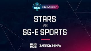 STARS vs SG-e Sports, ESL One Hamburg 2017, game 3 [Mortales]