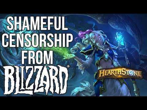 Blizzard Punishes Hong Kong Hearthstone Player for Protesting China