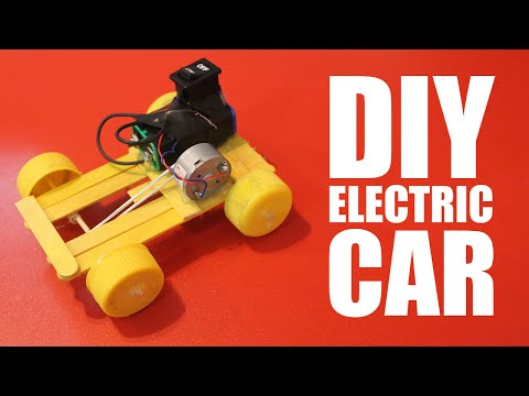 How to make a battery powered car - DIY electric car