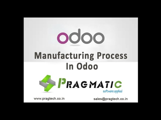 Odoo OpenERP 8 Manufacturing Management MRP MPS