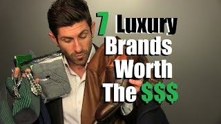 Video 7 Luxury Brands That Are Worth The Money *IMO | 7 Expensive Brands I Love MP3, 3GP, MP4, WEBM, AVI, FLV November 2018