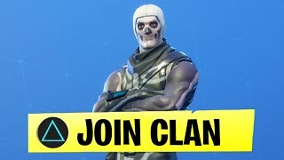 How to JOIN my Fortnite Clan...