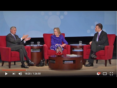 Jon Meacham and Doris Kearns Goodwin at The Richmond Forum