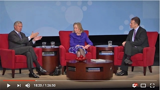 Jon Meacham and Doris Kearns Goodwin at The Richmond Forum