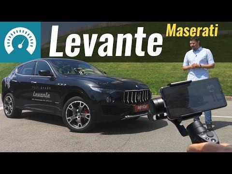 Maserati Levante Q4 2018. Тест-драйв снят на смартфон онлайн видео
