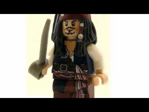 Video Pirates Of The Caribbean Minifig Captain now online at YouTube