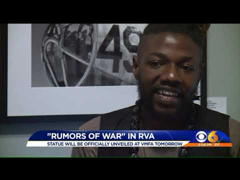`Rumors of War` statue to be unveiled at VMFA