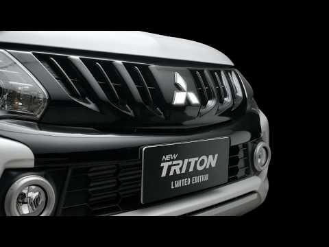 New Triton Limited Edition พันธุ์เข้ม กล้าขีดสุด กล้ารับประกันคุณภาพนานที่สุด 5 ปี