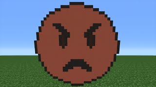 Minecraft Tutorial: How To Make An Anger Emoji