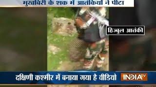 Suspected police informer tortured by militants in Kashmir