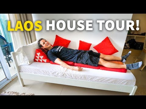 House in Vientiane, Laos For 61 USD Per Night