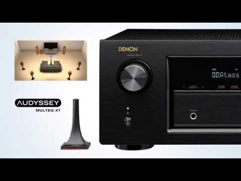 The AVR-X3200W Network A/V Receiver - Blockbusting 3D Sound