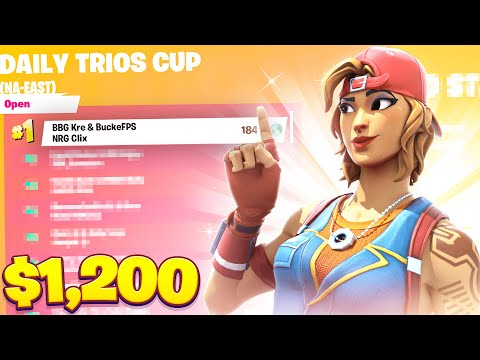 How We Placed 1st in the Daily Trios Cup ($1,200) | Clix