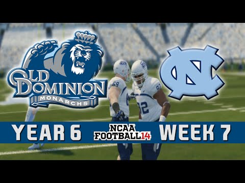 NCAA Football 14 Dynasty - Old Dominion: Episode 81