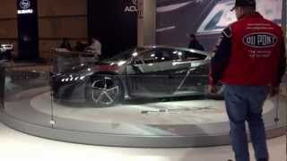 2014 - NSX Concept Acura - HP (Dynamometer To Be Determined)