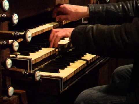 Louis Marchand Basse de Trompette à l'orgue de Souvigny par Jean-Luc Perrot