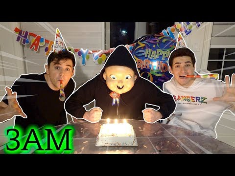 We Threw Happy Death Day a Birthday Party at 3AM! (It went BAD)
