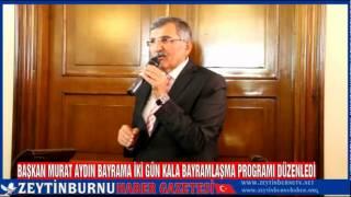 Başkan Murat Aydın Bayrama İki Gün Kala Bayram Programı Düzenledi