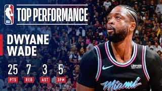 Dwyane Wade's LEGENDARY Performance Against The Warriors | February 27, 2019