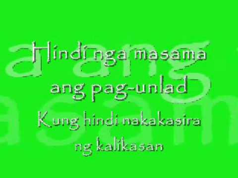 Video Masdan Mo Ang Kapaligiran-Asin.wmv download in MP3, 3GP, MP4, WEBM, AVI, FLV January 2017