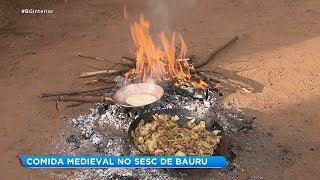 Oficina ensina pratos que eram servidos na Idade Média
