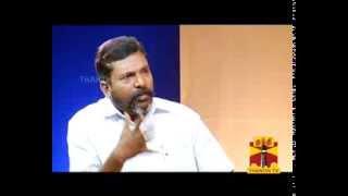 KELVIKKENNA BATHIL - Thol. Thirumavalavan Promo 19-01-2014  Thanthi TV